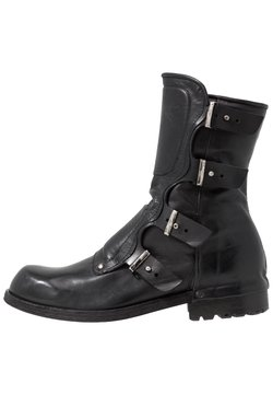 A.S.98 - SHIELD - Cowboy/Biker boots - nero