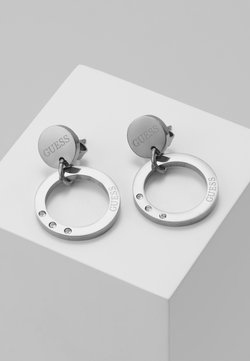 Guess - ETERNAL CIRCLES - Earrings - silver-coloured