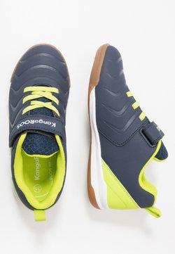 KangaROOS - SPEED COMB - Sneakers laag - dark navy/lime