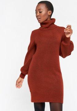 LolaLiza - Gebreide jurk - rust