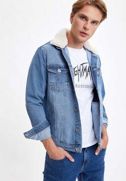DeFacto - Veste en jean - blue