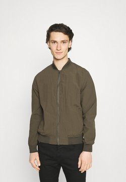 Cotton On - RESORT - Giubbotto Bomber - textured khaki