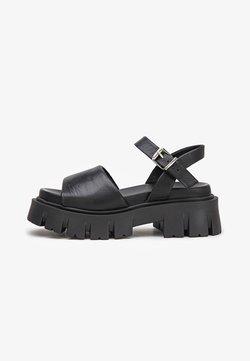 Inuovo - Sandales à plateforme - black blk