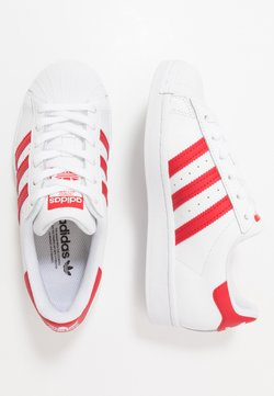 adidas Originals - SUPERSTAR SPORTS INSPIRED SHOES UNISEX - Baskets basses - footwear white/scarlet