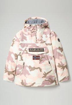 Napapijri - RAINFOREST PRINT CAMO - Winterjacke - camou pink