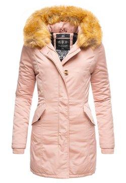 Marikoo - KARMAA - Wintermantel - pink
