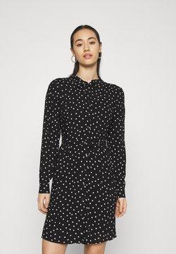 Even&Odd - Robe chemise - black/white