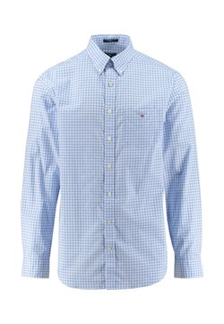 GANT - REGULAR FIT LANGARM - Hemd - blau