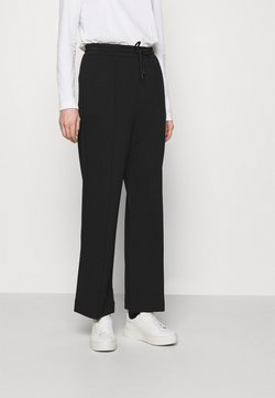 Marc O'Polo DENIM - THE WIDE LEG PANTS - Jogginghose - black