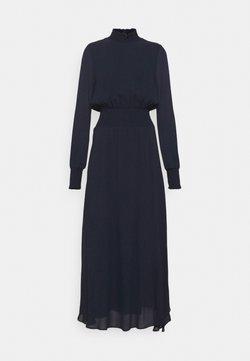 IVY & OAK - RAPA - Vestido largo - navy blue