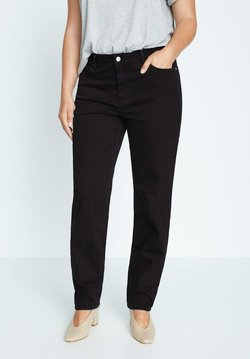 Violeta by Mango - ELY - Relaxed fit jeans - black denim