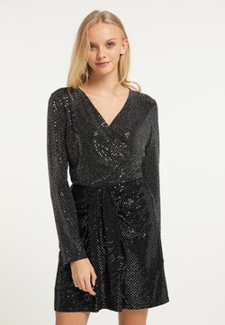 myMo at night - Bluse - silber schwarz
