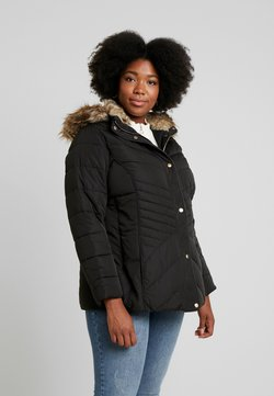 New Look Curves - MAISIE FITTED PUFFER - Talvitakki - black