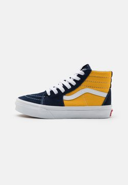 Vans - SK8 UNISEX - Korkeavartiset tennarit - dress blue/saffron