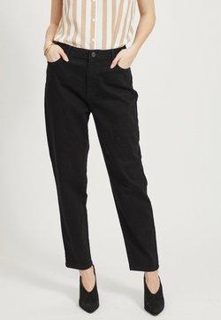 Vila - Straight leg jeans - black denim