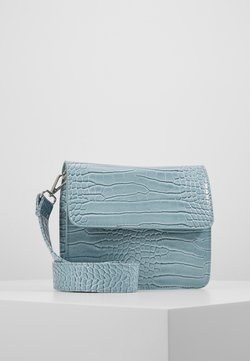 HVISK - CAYMAN SHINY STRAP BAG - Skuldertasker - baby blue