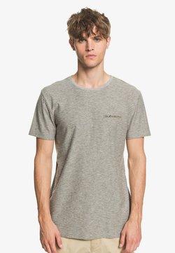 Quiksilver - KENTIN - T-Shirt print - grey