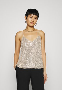 Banana Republic - PERFECT CAMI SEQUINS - Top - champagne cocktail