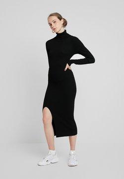 YAS - YASSBIRIELLA ROLLNECK DRESS - Jumper dress - black