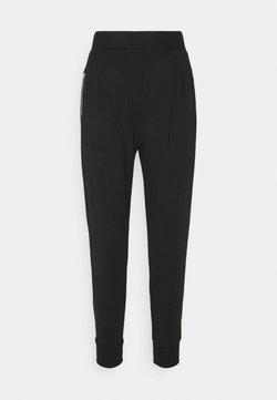 Pinko - ARCIGNO PANTALONE INTERLOCK STRETCH - Jogginghose - black