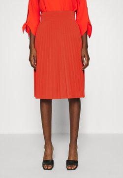 Anna Field - Plisse A-line mini skirt - Gonna a campana - orange