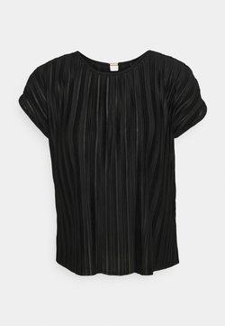 ONLY - ONLELEMA ONECK BOX - Blouse - black