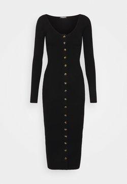 Fashion Union Tall - ALLISTER - Gebreide jurk - black