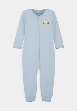 Name it - NBMNIGHTSUIT ZIP DUSTY - Pyjama - dusty blue