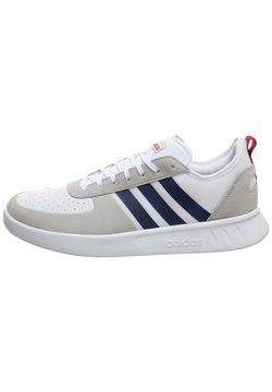adidas Performance - COURT 80S SNEAKER HERREN - Tennisschuh für Sandplätze - footwear white/dark  blue/action marine