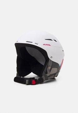 Alpina - BIOM UNISEX - Helm - white/pink matt