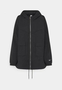 Nike Sportswear - Kevyt takki - black/dark smoke grey