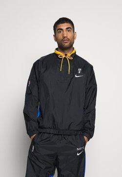Nike Performance - NBA BROOKLYN NETS CITY EDITION TRACKSUIT - Trainingspak - black/royal blue/university gold