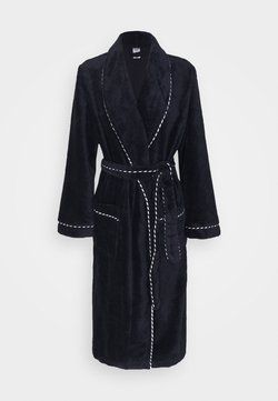 Calida - AFTER SHOWER - Dressing gown - dark lapis blue