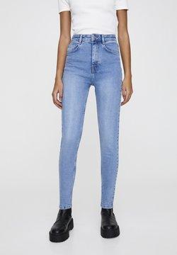 PULL&BEAR - Jeans Skinny - mottled blue