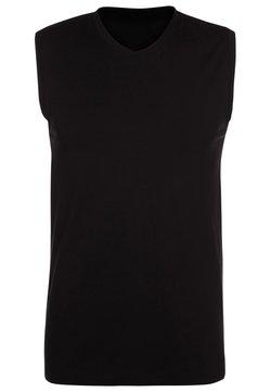 Schiesser - Unterhemd/-shirt - schwarz