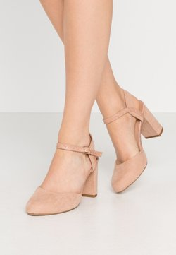 New Look Wide Fit - WIDE FIT SHUTTER 2PART - High heels - oatmeal