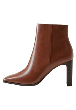 Mango - High heeled ankle boots - braun