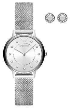Emporio Armani - SET - Montre - silver-coloured