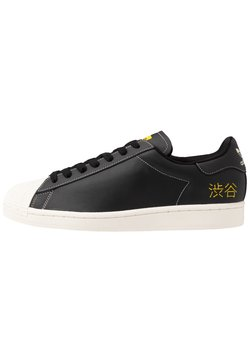 adidas Originals - SUPERSTAR PURE - Sneakers laag - core black/core white