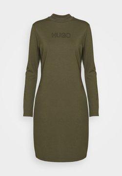 HUGO - DASSY - Vestido ligero - beige/khaki