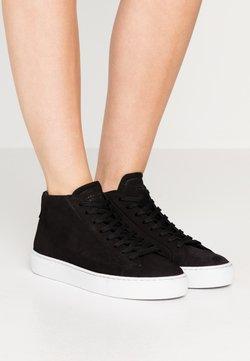 GARMENT PROJECT - TYPE MID SLIM SOLE - Sneakers hoog - black