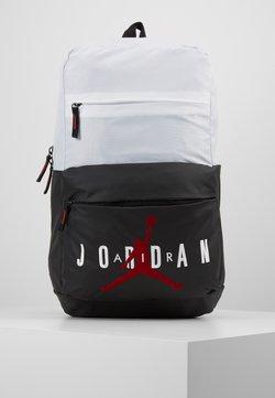 Jordan - PIVOT PACK - Reppu - white/black