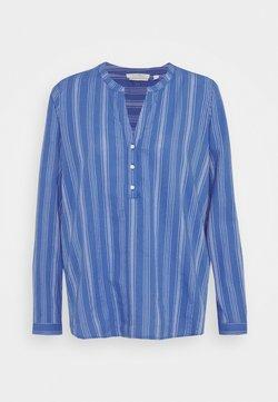 TOM TAILOR DENIM - STRIPED - Bluse - mid blue/white