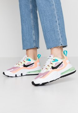 Nike Sportswear - AIR MAX 270 REACT - Sneaker low - light arctic pink/black/orange pulse/white/vapor green/oracle aqua