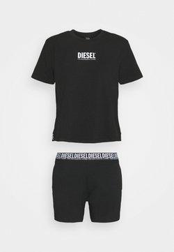Diesel - UFSET ELO SHAN SET - Pyjama - black