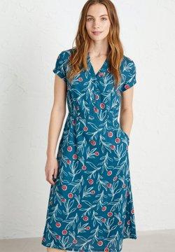 SEASALT - PENCIL BOX - Korte jurk - blue