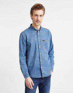 Lee - RIVETED  - Overhemd - blue