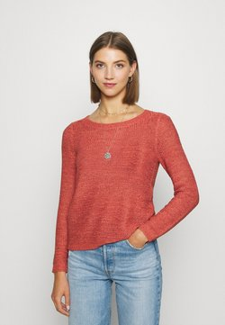 ONLY - ONLGEENA - Strickpullover - mineral red