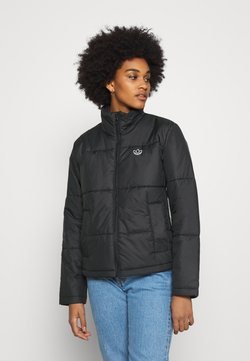 adidas Originals - PUFFER WINTER MIDWEIGHT JACKET - Overgangsjakker - black