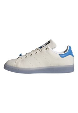 adidas Originals - STAN SMITH J - Sneaker low - cwhite/ftwwht/brblue